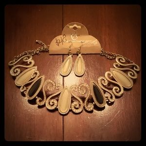 Statement Gemstone Choker Necklace